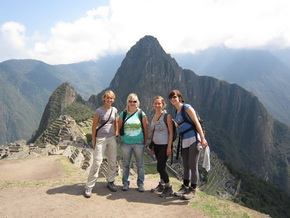 Machu Picchu Inca Trail - Rewarding Picture after the Hike