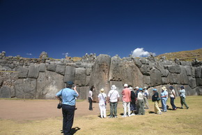 Fortress of Sacsayhuaman in Cusco Peru