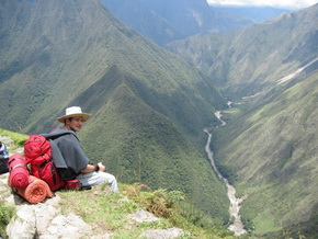 Inca Trail Rivers and Mountains - MachuPicchu Peru