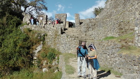 Guided tour along the Inca Trail to Machu Picchu