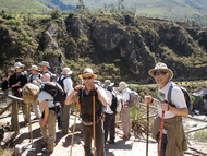 Short Fast Inca Trail to Machu Picchu - 2-days 1 night in Cusco Peru