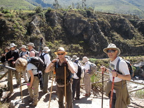 Inca Trail Hike for singles and groups to Machu Picchu