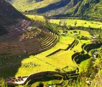 Ruinas de Patallacta en el Camino Inca. Reserva un espacio en el 2016
