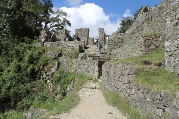 Visita Intipunku la entada de Machu Picchu