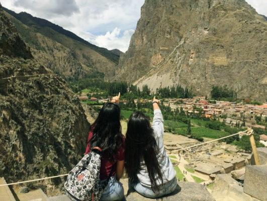 Amigas viajan a Ollantaytambo con el Boleto Turístico