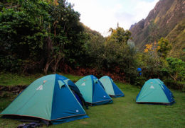 Campamentos en el Camino Inca Clásico de 4 dias