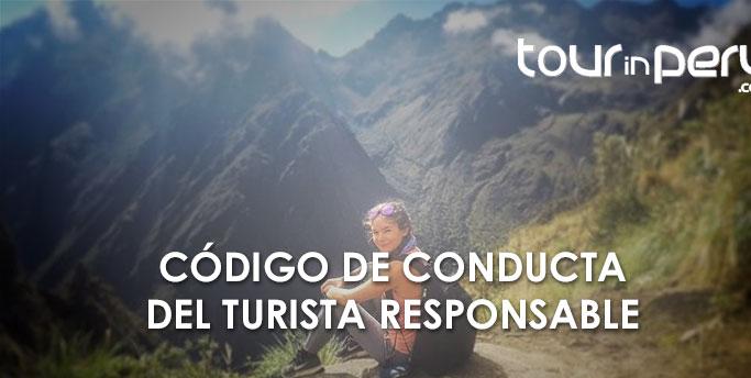 Código de Conducta del Turista Responsable – TOURinPERU