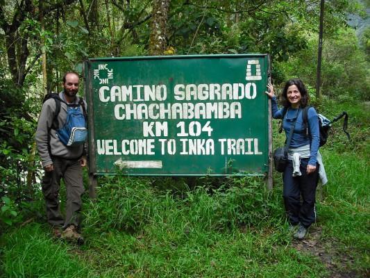 Chachabamba, el inicio del Camino Inca Corto