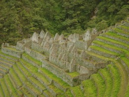 Wiñaywayna en el Camino Inca Clásico a Machu Pichu