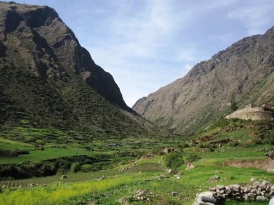 Conoce el valle de Wayllabamba en el Camino Inca