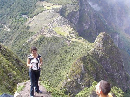 Quinta Razón: Subir al cerro Huayna Picchu y tener una vista panorámica increible